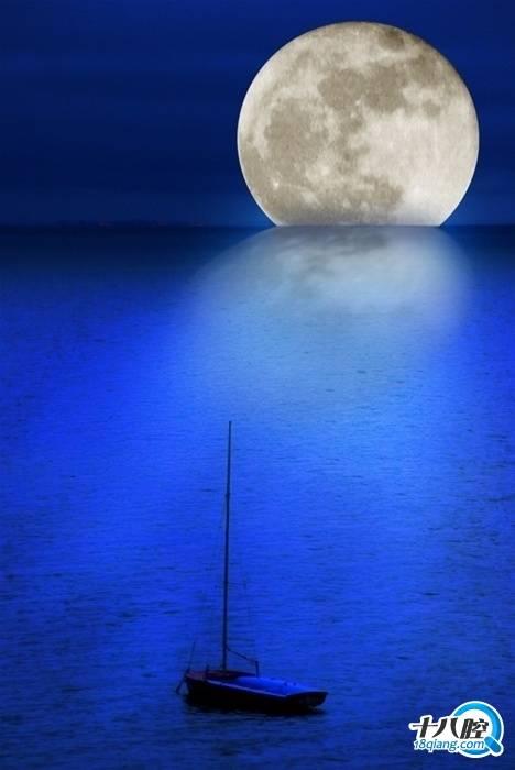 组搞笑月饼诗和唯美月亮图片,中秋节快乐