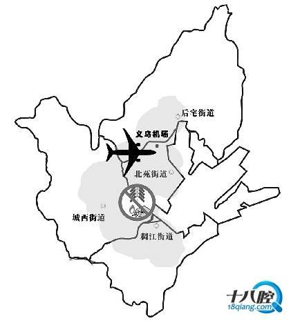 机场净空保护区域示意图