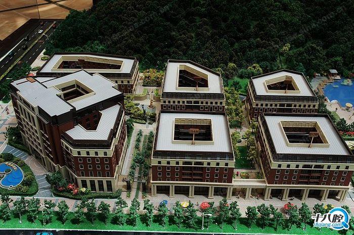 杭州均价1万1/平,欧式风情小镇现房在售.