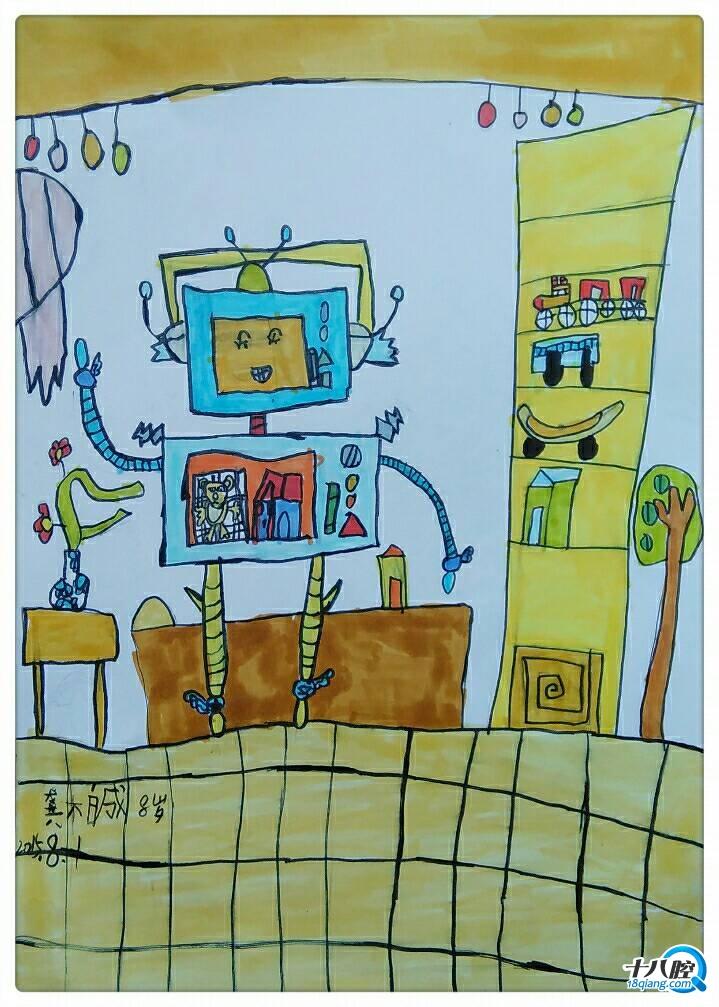 幼儿园的作品觉得哪幅最好