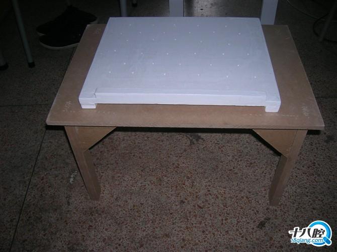 大学木工课自己动手做的电脑桌|装修大本营