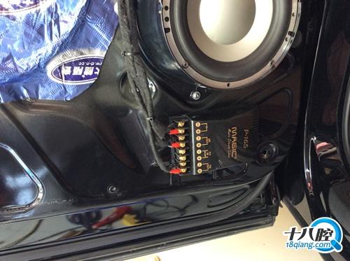 金华奥迪Q7汽车音响改装丨义乌道声汽车音响隔音改装高清图片