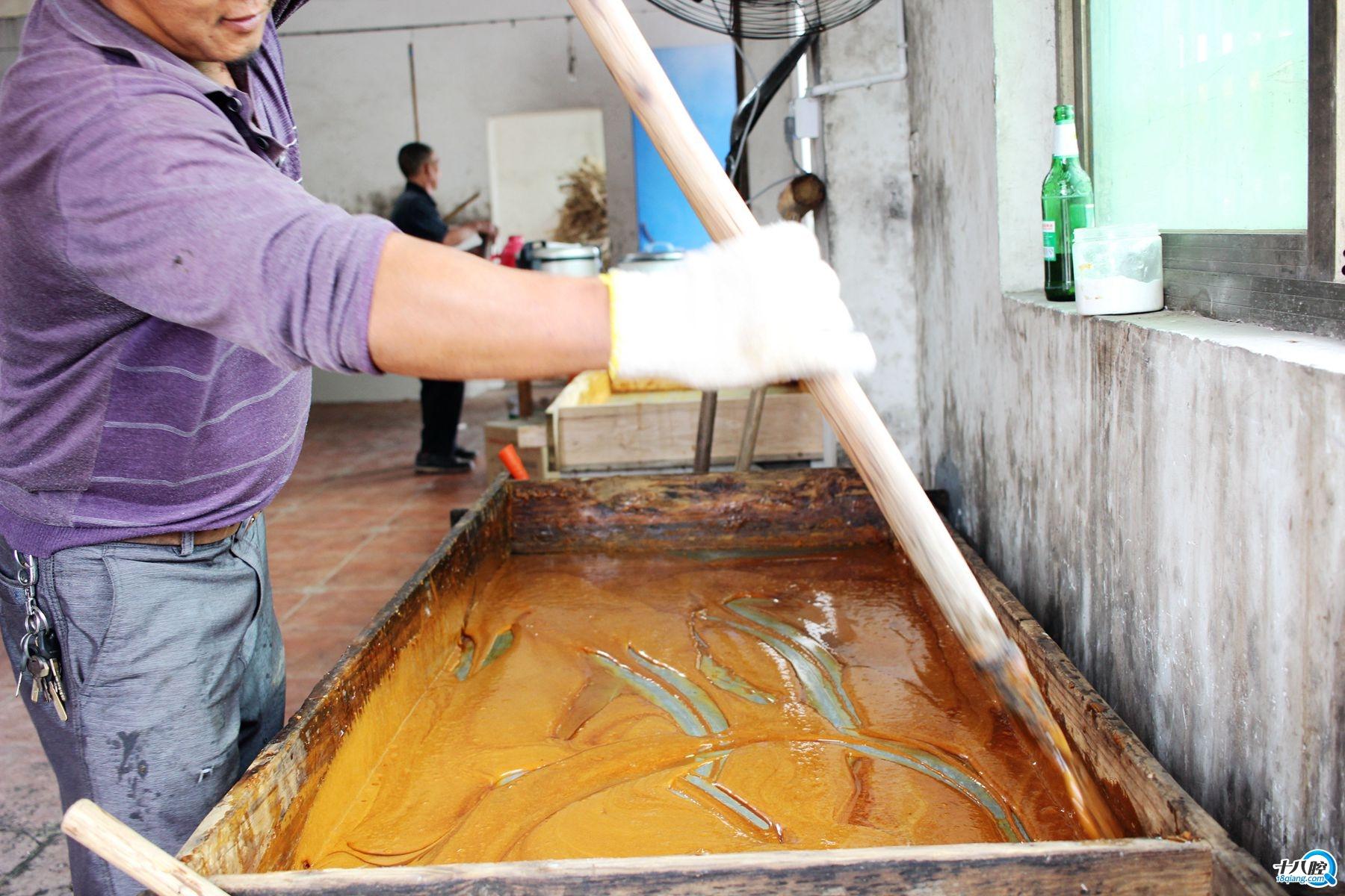 义乌红糖制作流程.