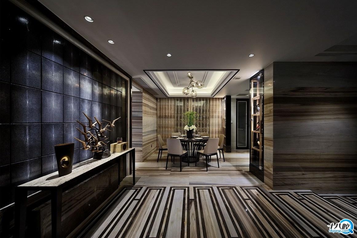家装设计效果图欣赏:低调雅致的意式奢华图片