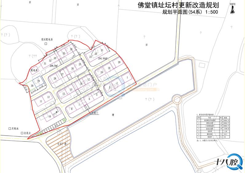 佛堂镇7个村获批建造三层半,详细规划图出炉!