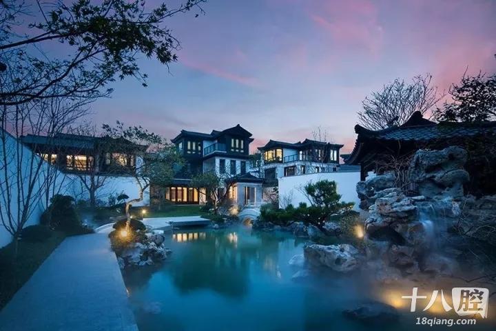 新中式意向风景