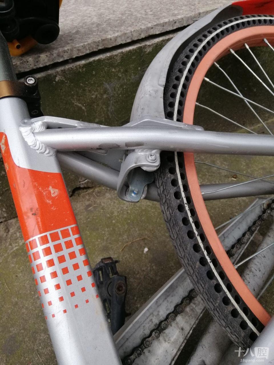 共享单车零件结构图
