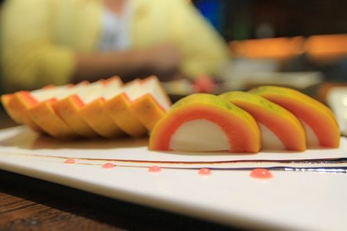 木瓜牛奶冻,爱美的女生可不要错过了-HOME餐厅情调与品位的享受