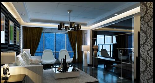 业主d:客厅的砖和墙是米黄色,那窗帘配什么颜色好,沙发用什么颜色好?