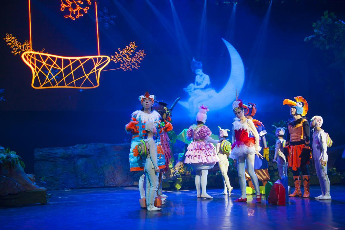 梦幻谷儿童梦工厂舞台剧——《小鸟加油》