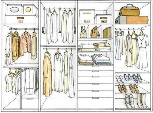 衣柜裤架尺寸与高度