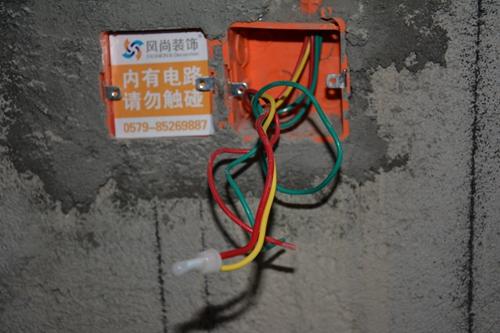 老房子电线可以拉明线