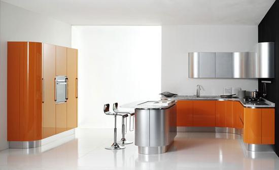 提高空间使用效能的中岛厨房设计