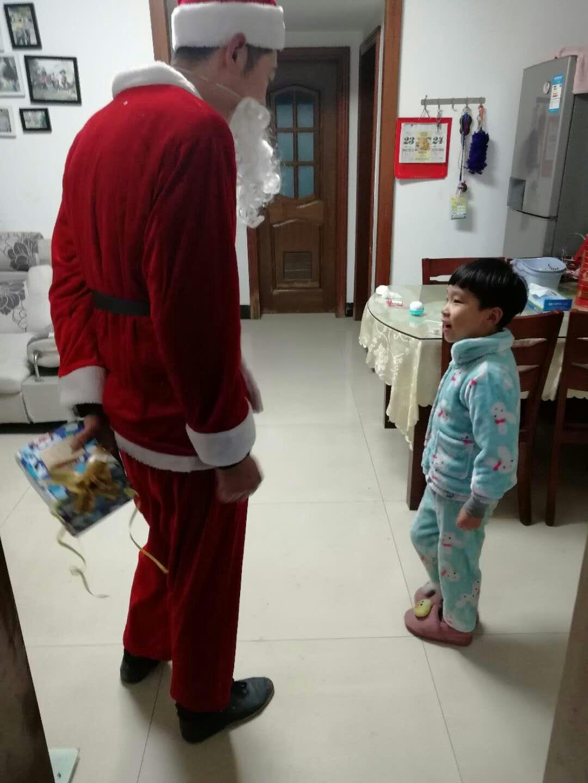 """""""圣诞老人来我家""""活动圆满结束啦!"""
