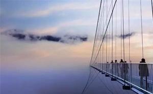 超刺激!义乌周边有座高空玻璃桥,垂直高度189米,你敢去挑战吗