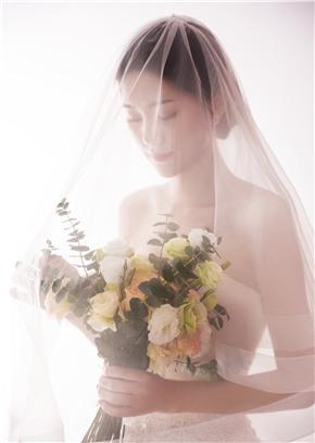仙女本仙的婚纱照终