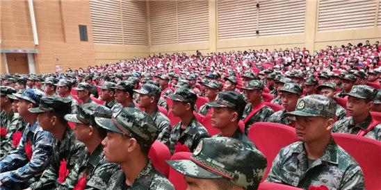 义乌举行新兵入伍欢送大会