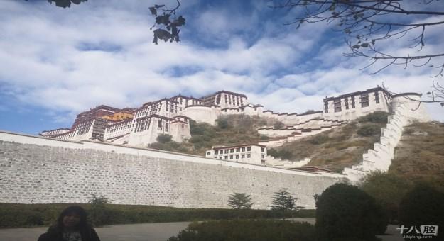 壮观的布达拉宫