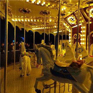 義烏兒童公園夜景很美