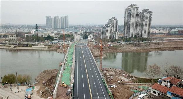 横跨义乌江,佛堂这条南北交通重要通道通车了!
