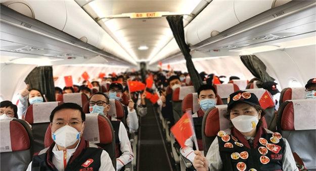义乌最后一批5名援鄂医护人员返浙
