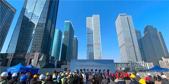 义乌金融商务区再添2幢超高层