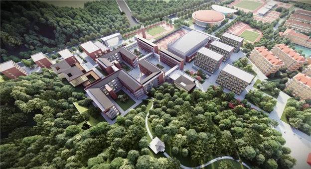 初高中各18个班!义乌青岩书院进入全面施工阶段